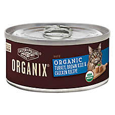 Castor & Pollux ORGANIX® Cat Food - Turkey, Brown Rice & Chicken