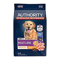 Authority® Tender Blends ™ Mature Adult Dog Food - Chicken & Rice