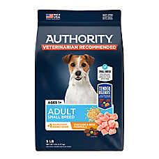 Authority® Tender Blends ™ Small Breed Adult Dog Food - Chicken & Rice