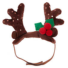 Pet Holiday™ Reindeer Hat Small Costume