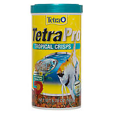 TetraPro™ Tropical Crisps Fish Food Flakes