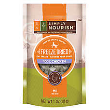Simply Nourish™ Freeze Dried Cat Treat - Natural, Chicken