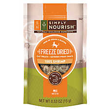 Simply Nourish™ Freeze Dried Cat Treat - Natural, Shrimp
