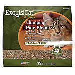 Exquisicat Clumping Pine Blend Cat Litter - Fragrance Free