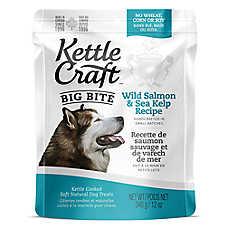 Kettle Craft Big Bite Dog Treat - Natural, Salmon & Sea Kelp