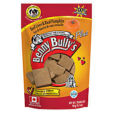 Benny Bully's Plus Dog Treat - Natural, Beef Liver & Pumpkin