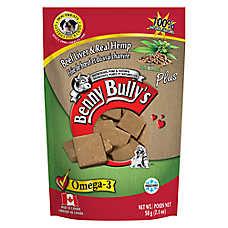 Benny Bully's Plus Dog Treat - Natural, Beef Liver & Hemp