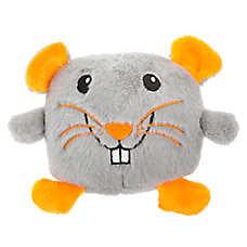 Thrills & Chills™ Halloween Rat Head Dog Toy - Plush, Squeaker