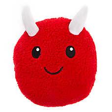 Thrills & Chills™ Halloween Sherpa Devil Dog Toy - Plush, Squeaker