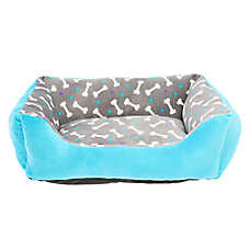 Grreat Choice® Bone Cuddler Pet Bed