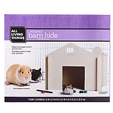 All Living Things® Buildable Small Pet Barn Hide