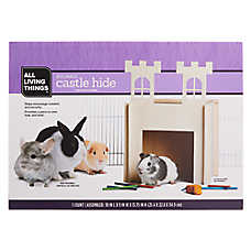 All Living Things® Buildable Castle Small Pet Hide