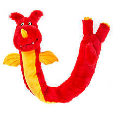 Thrills & Chills™ Halloween Dragon Dog Toy - Plush, Squeaker
