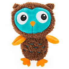 Thrills & Chills™ Halloween Owl Dog Toy - Plush, Squeaker