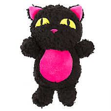 Thrills & Chills™ Halloween Cat Dog Toy - Plush, Squeaker