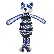 Top Paw® Tuff Roped Raccoon Dog Toy