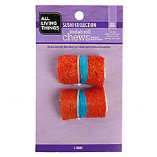 All Living Things® Loofah Roll Small Animal Chew