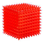 Grreat Choice® Spiky Cube Dog Toy - Squeaker
