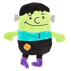 Thrills & Chills™ Halloween Frankenstein Flattie Dog Toy - Crinkle