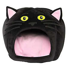 Thrills & Chills™ Halloween Cat Hut Pet Bed