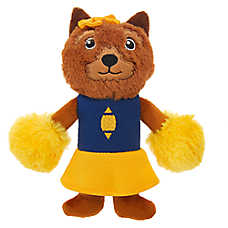Top Paw® Sports Cheerleader Dog Toy - Plush, Squeaker