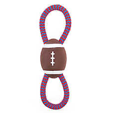 Top Paw® Football Rope Tug Dog Toy