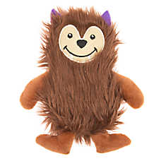 Thrills & Chills™ Halloween Werewolf Flattie Dog Toy - Crinkle