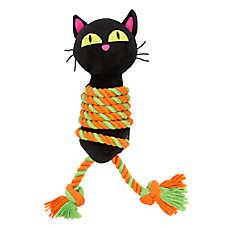 Thrills & Chills™ Halloween Roped Cat Dog Toy - Plush, Rope