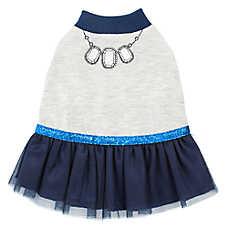 Top Paw® Necklace Print Dog Dress