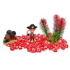 All Living Things® Pirate Aquarium Decor