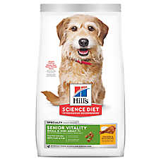 Hill's® Science Diet® Youthful Vitality Small & Toy Breed Adult 7+ Dog Food - Chicken & Rice