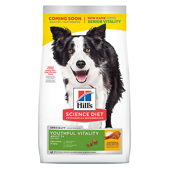 Hill's® Science Diet® Youthful Vitality Adult 7+ Dog Food