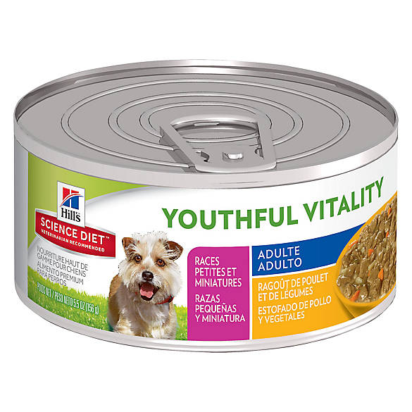 Hill's® Science Diet® Youthful Vitality Small Breed Adult