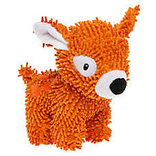 Grreat Choice® Noodle Deer Dog Toy - Plush, Squeaker