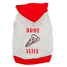 "Top Paw® ""Home Slice"" Pizza Pet Hoodie"
