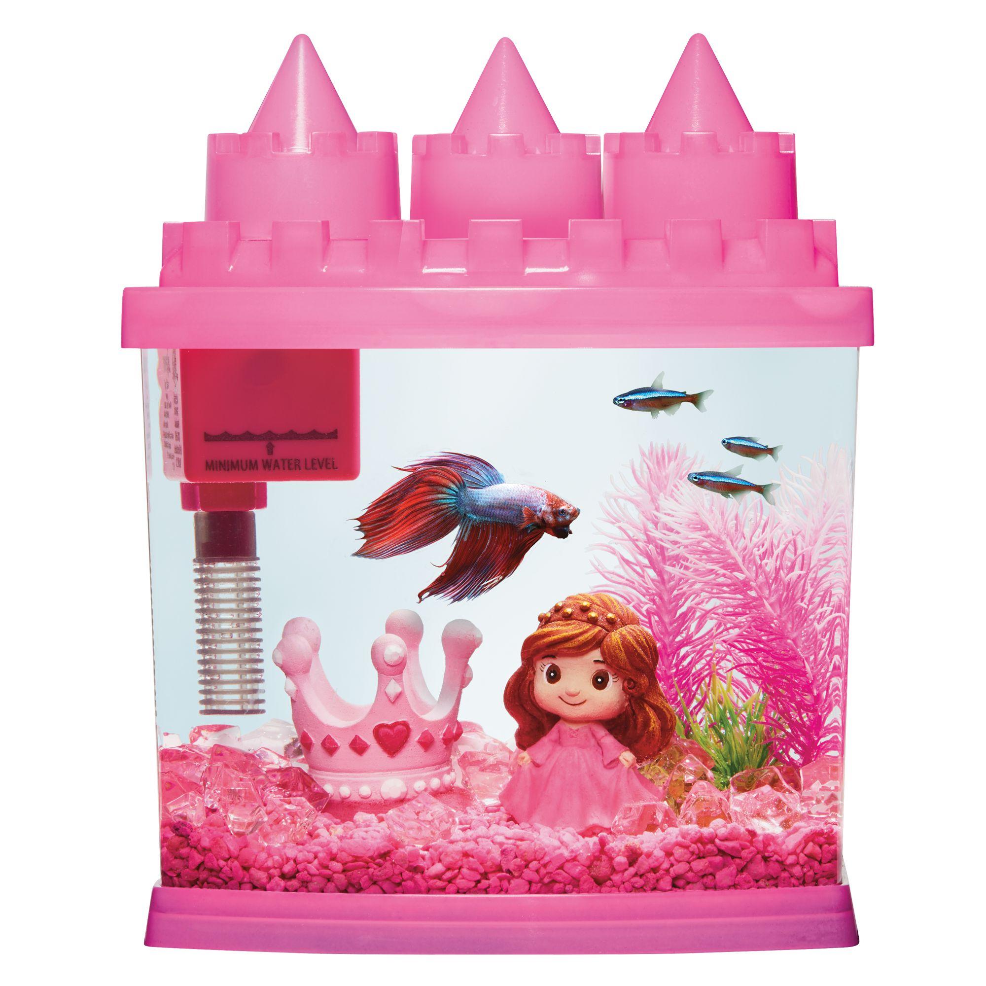 Top Fin Princess Aquarium 1 Gallon Fish Starter Kits Petsmart
