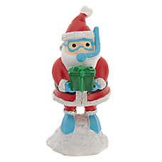 Top Fin™ Snorkle Santa Aquarium Ornament