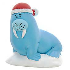 Top Fin™ Holiday Walrus Aquarium Ornament