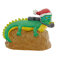 Top Fin™ Snorkling Crocodile Aquarium Ornament