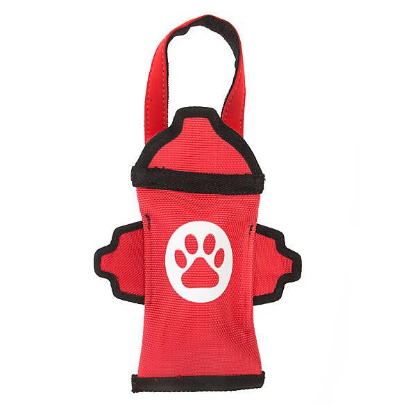 Top Paw 174 Tuff Fire Hydrant Dog Toy Squeaker Dog Plush