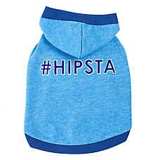 "Top Paw® ""#Hipsta"" Dog Hoodie"
