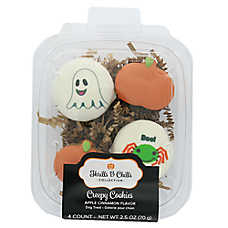 Thrills & Chills Pet Halloween Creepy Cookies Giift Pack Dog Treat