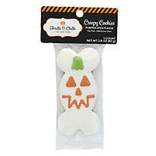 Thrills & Chills Pet Halloween Creepy Cookies Pumpkin Bone Dog Treat