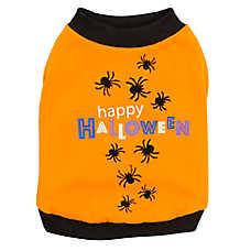 """Thrills & Chills™ """"Happy Halloween"""" Spider Tee"""