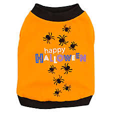"Thrills & Chills™ ""Happy Halloween"" Spider Tee"