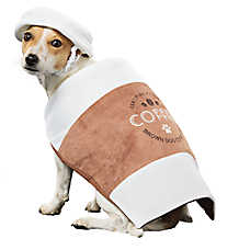 Thrills & Chills™ Halloween Coffee Cup Dog Costume