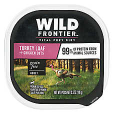 NUTRO™ Wild Frontier Adult Dog Food - Natural, Grain Free, Game Bird Recipe