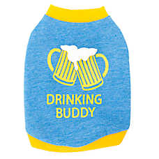 "Top Paw® ""Drinking Buddy"" Pet Tee"