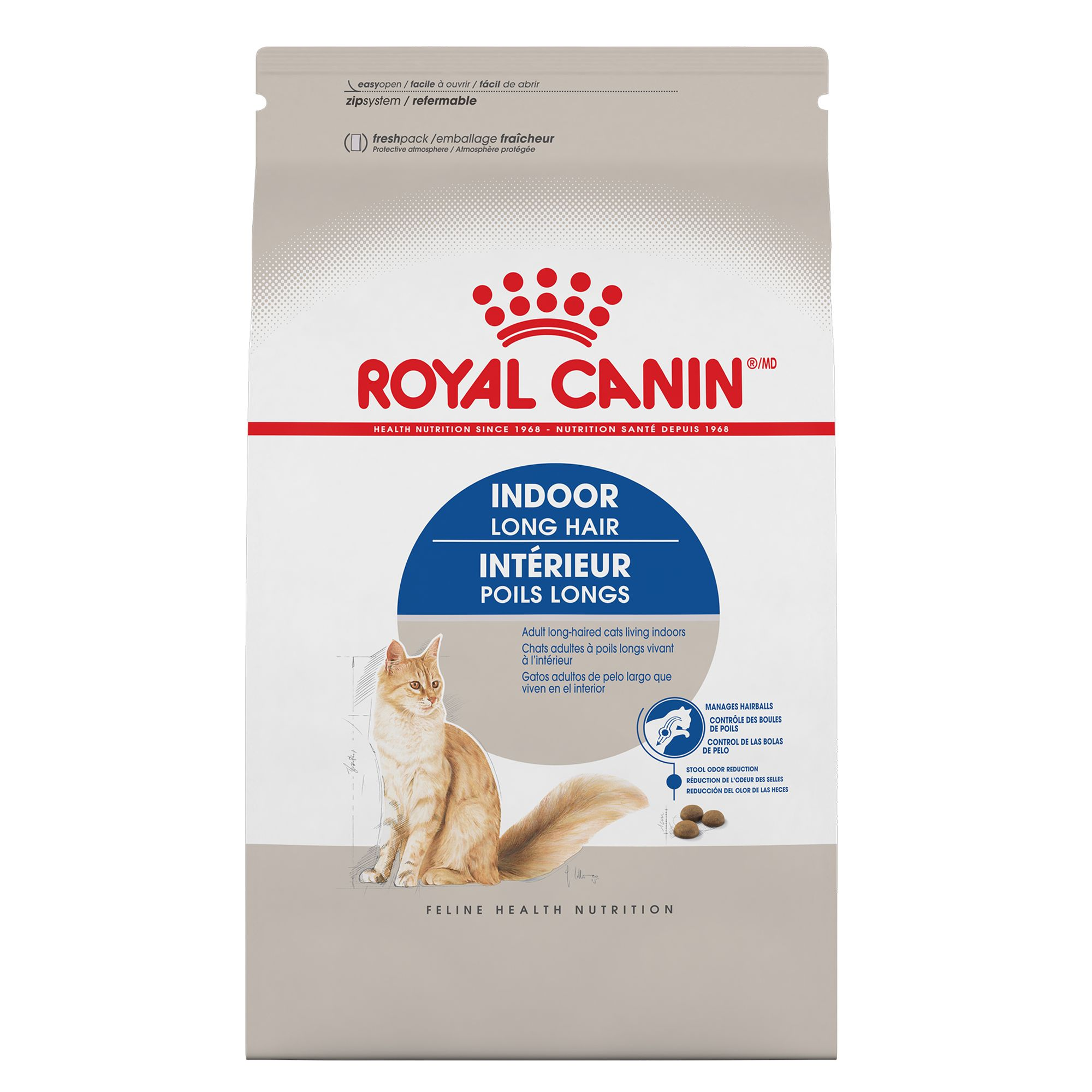 Royal Canin Feline Health Nutrition Indoor Long Hair Cat Food