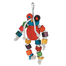 All Living Things® Wooden Frog Bird Toy